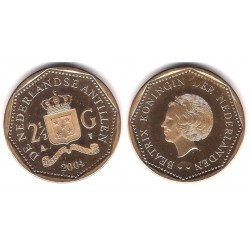 (38) Antillas Neerlandesas. 2004. 2½ Gulden (SC)