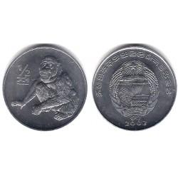 (184) Corea del Norte. 2002. ½ Chon (SC)