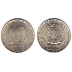 (86.1) Angola. 1977. 10 Kwanzas (SC)