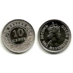 (35) Belice. 2000. 10 Cens (SC)