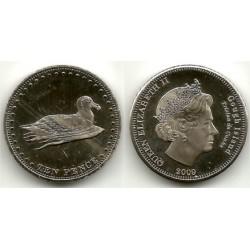 Tristán de Acuña. 2009. 10 Pence (SC)