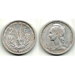 (9) Camerún. 1948. 2 Francs (MBC)