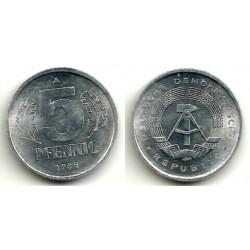 (9.2) Alemania Democrática. 1988(A). 5 Pfennig (SC)