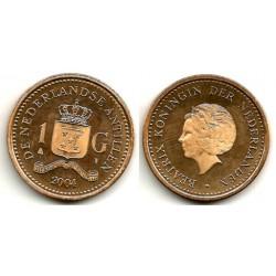 (37) Antillas Neerlandesas. 2004. 1 Gulden (SC)
