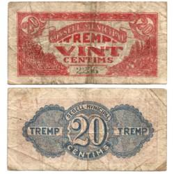 Tremp. 1937. 25 Céntimos (BC)