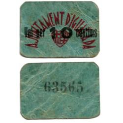Igualada. 1937. 10 Céntimos (BC)