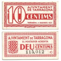 Montblanc. 1937. 10 Céntimos (SC)