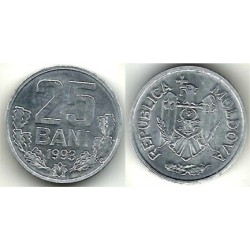 (3) Moldavia. 1993. 25 Bani (SC)