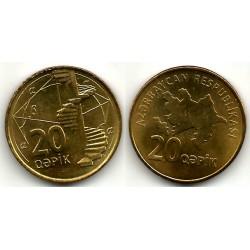 (43) Azerbaiyán. 2006. 20 Qapik (EBC)