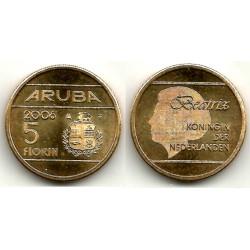 (38) Aruba. 2006. 5 Florin (EBC)
