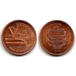 (51) Guyana. 2002. 5 Dollars (SC)