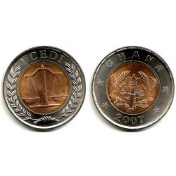 (42) Ghana. 2007. 1 Cedi (SC)