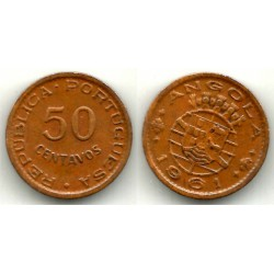 (75) Angola. 1961. 50 Centavos (MBC)