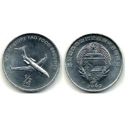 (194) Corea del Norte. 2002. ½ Chon (SC)