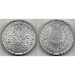 (21) Djibouti. 1977. 2 Francs (SC)