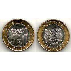 (30) Botswana. 2000. 5 Pula (SC)
