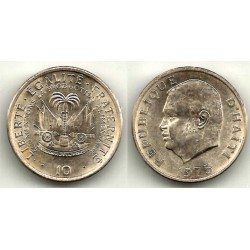 (120) Haiti. 1975. 10 Centimes (SC)