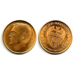 Medalla Valencia C.F. Javi Navarro (EBC)