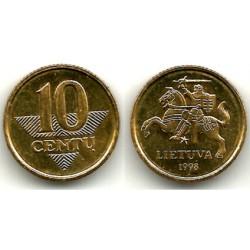 (106) Lituania. 1998. 10 Centu (SC)