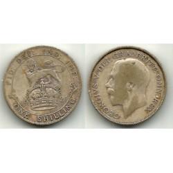(816a) Gran Bretaña. 1921. 1 Shilling (BC) (Plata)