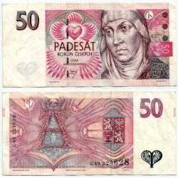 (17a) República Checa. 1997. 50 Korun (MBC)