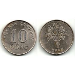 (8a) Viet Nam. 1968. 10 Dong (MBC)
