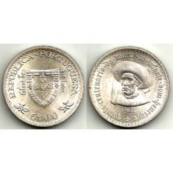 (587) Portugal. 1960. 5 Escudos (SC) (Plata)