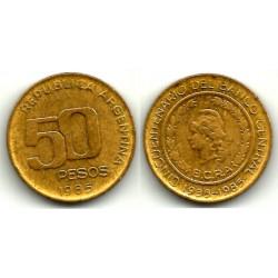 (94) Argentina. 1985. 50 Pesos (MBC)