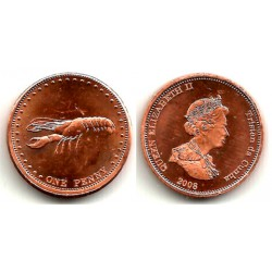 Tristán de Acuña. 2008. 1 Penny (EBC-)