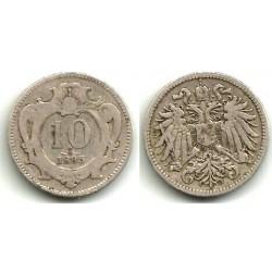 (2802) Austria. 1895. 10 Heller (BC)