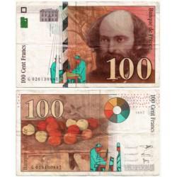 (158) Francia. 1997. 100 Francs (BC)