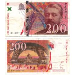 (159a) Francia. 1996. 200 Francs (BC)