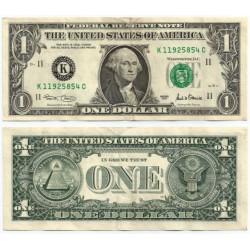 (509) Estados Unidos de América. 2001. 1 Dollar (MBC-)