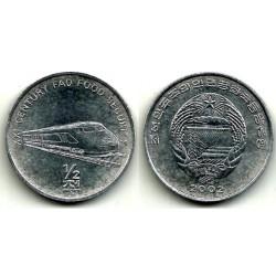 (193) Corea del Norte. 2002. ½ Chon (SC)