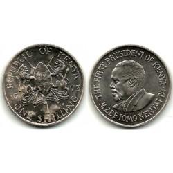 (14) Kenia. 1973. 1 Shilling (EBC+)