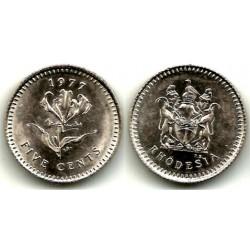 (13) Rhodesia. 1977. 5 Cents (SC)