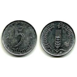 (627) Francia. 1962. 5 Centimes (SC)