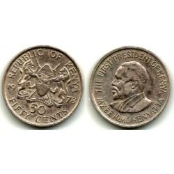 (13) Kenia. 1978. 50 Cents (MBC)