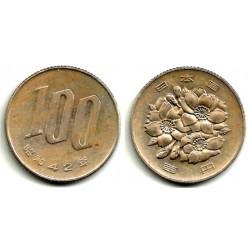 (Y82) Japón. 1967(42). 100 Yen (MBC)