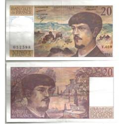 (151b) Francia. 1987. 20 Francs (MBC)
