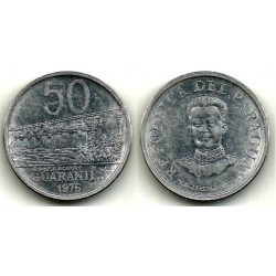 (154) Paraguay. 1975. 50 Guaranies (MBC)