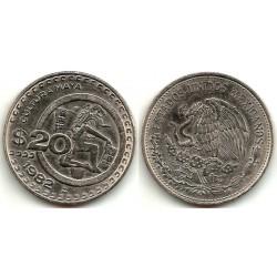 (486) Estados Unidos Mexicanos. 1982. 20 Pesos (MBC+)