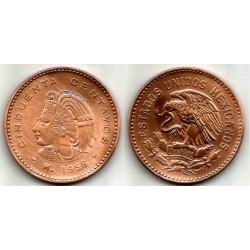 (450) Estados Unidos Mexicanos. 1956. 50 Centavos (BC+)