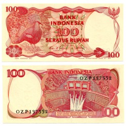 (122) Indonesia. 1984. 100 Rupiah (SC)