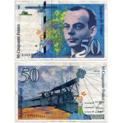 (157b) Francia. 1993. 50 Francs (MBC)