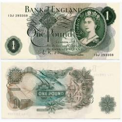 (374a) Gran Bretaña. 1960-77. 1 Pound (EBC+)