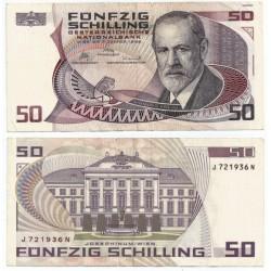 (149) Austria. 1986. 50 Schilling (BC) Pequeña rotura magen superior