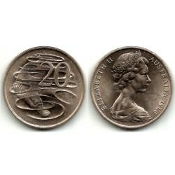 (66) Australia. 1980. 20 Cents (EBC)