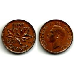 (41) Canadá. 1951. 1 Cent (MBC)