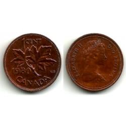 (127) Canadá. 1980. 1 Cent (MBC)